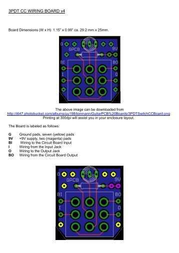 70 free magazines from guitarpcb com rh yumpu com 3PDT Layout 3PDT Footswitch Wiring