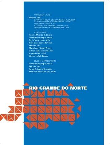 RIO GRANDE DO NORTE - Ministério do Meio Ambiente
