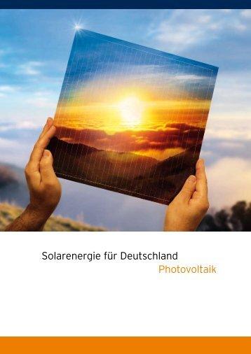 """""""Solar Valley"""" — Deutschlands Solarindustrie auf der Überholspur"""