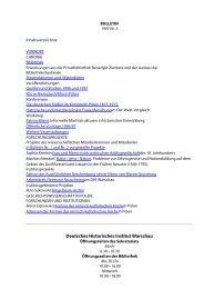 Deutsches Historisches Institut Warschau, Bulletin Nr. 3, 1997