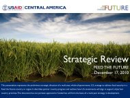 Central America and Mexico Regional Strategic ... - Feed the Future