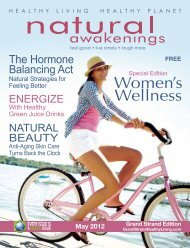 May 2012: Women's Wellness - Grand Strand Natural Awakenings