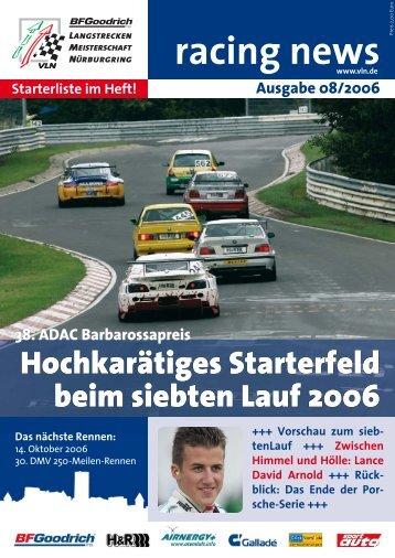 racing news - Generationen - Team
