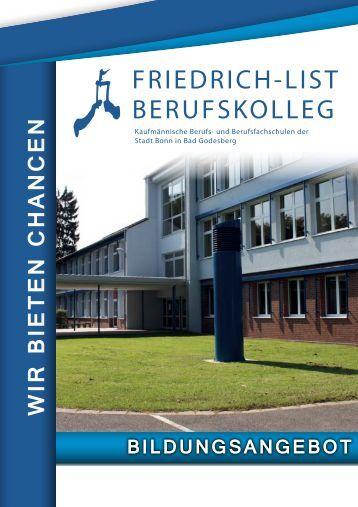 Kaufm Nnische Berufsfachschule Friedrich List Schule