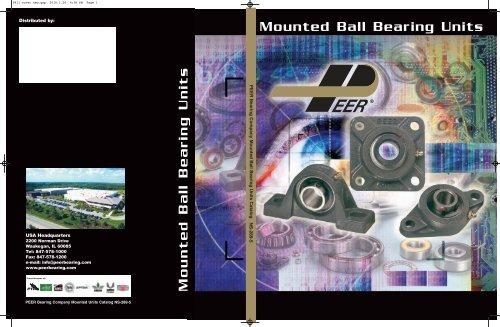 Peer Bearing HC210-50MM HC200 Series Insert Bearing Metric Single Lip Seal 50 mm Bore Eccentric Locking Collar Relubricable 62.7 mm Spherical Outer Ring 22 mm Wide Inner Ring 90 mm Outside Diameter PER   HC210-50MM