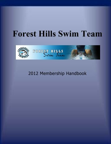 2012 fhst meets - Forest Hills Swim Team