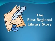 pdf file. - First Regional Library