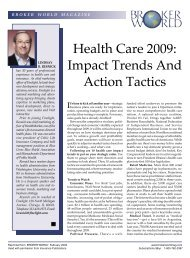 Health Care 2009: Impact Trends And Action Tactics