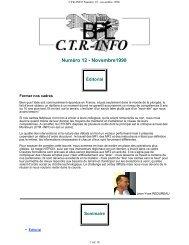 CTR info - Commission technique régionale Bretagne et Pays de la ...