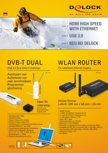 DVB-T DUAL - DeLock
