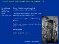 Demography of Ancient South Asian Populations, Part 2