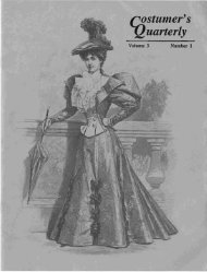 Vol 3 No 1 - International Costumers' Guild, Inc.