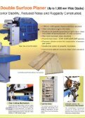 double side planer - Woodtech - Page 3