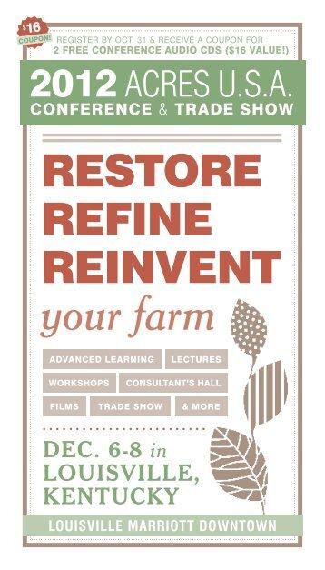 your farm - Acres USA