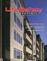 Winter 2007 - FCIA - Firestop Contractors International Association