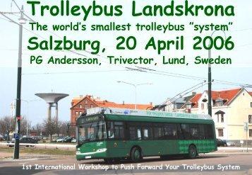 Trolleybus Landskrona - TrolleyMotion