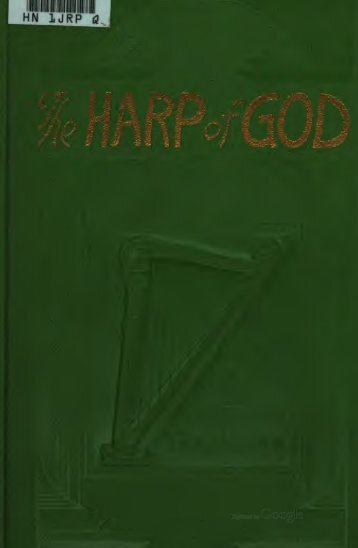 1921 The Harp of God 1928 Revision - A2Z.org