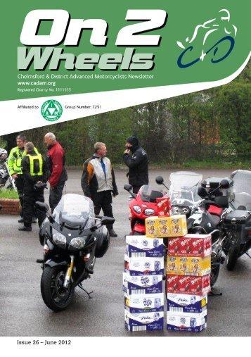 Issue 26 – June 2012 - CADAM