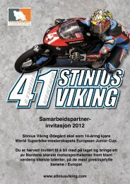 Bli med oss ut i Europa sesongen 2012! - start