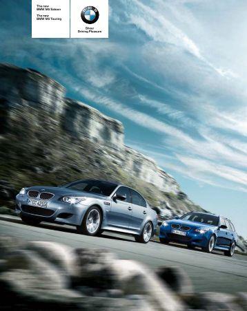 BMW 5er Sport Limousine und 5er Sport Touring Internetkatalog ...