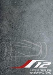 Newsletter März. 2012 - joanneum racing