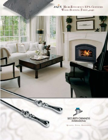 Bis Wood-Burning Fireplaces Brochure - The Firebird