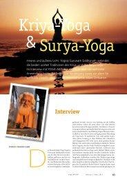 Interview - Sonnen-Yoga
