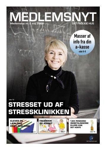 STRESSET UD AF STRESSKLINIKKEN - Det Faglige Hus