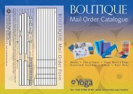 Mail Order A5 new 6 rev 2006 - Sivananda Yoga