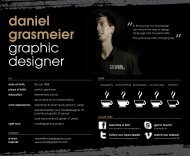 daniel grasmeier graphic designer - on the website of roadiegraphics