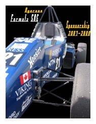 Formula SAE Team - Ryerson University
