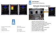 Astronautics Corporation of America Helicopter Avionics System