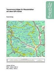 Mountainbike-Tour Seensteig