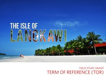 term of reference (tor) for field study grant 'field study grant'