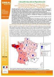Résultats au 2ème trimestre 2012 - DREAL des Pays de la Loire