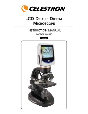 celestron lcd digital microscope manual