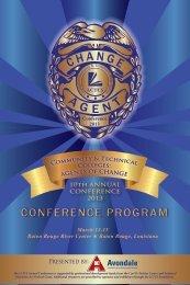 Full Conference Program - Louisiana Community and Technical ...