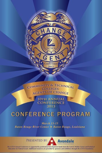 Full Conference Program - Louisiana Community and Technical ...