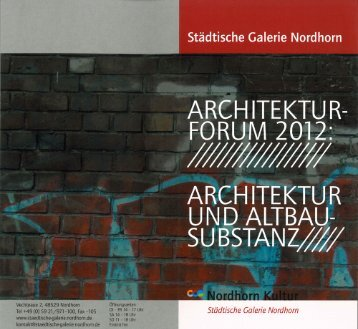 Architekturforum 2012.pdf - Rosink