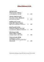 Riesling Kabinett trocken - Das Lamm Heidelberg