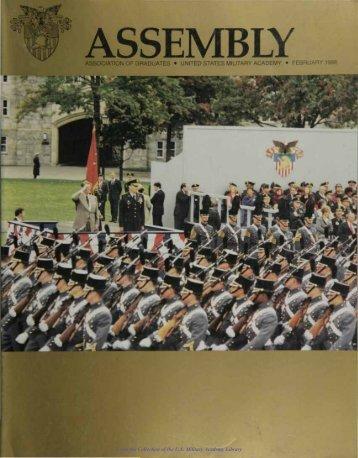 association of graduates • united states military academy • february ...