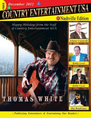 December 2012 Issue - Country Entertainment USA