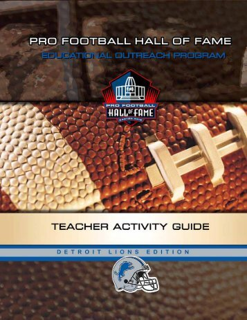 Detroit Lions Activity Book.qxp - Detroit Lions - NFL.com