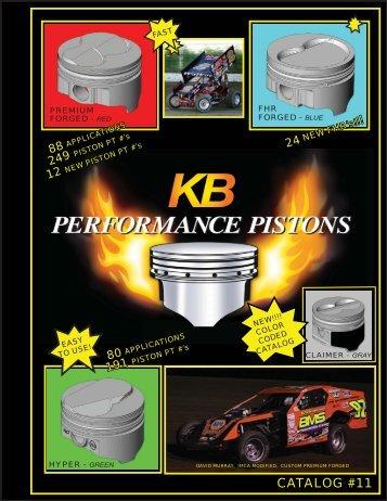 KB Catalog - KB Performance Pistons