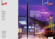 DEHN schützt Anlagen der Bahntechnik DEHN protects Railway ...