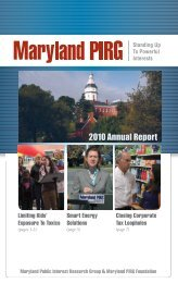 2010 Annual Report - Public Interest Network