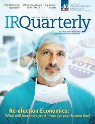 View a free sample issue. - Society Of Interventional Radiology