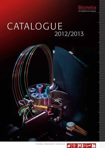 Biometra Catalog 2012-2013