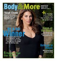 BODY & MORE Issue No. 6 2009 - Content That Works