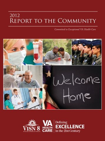 2012 Report to the Community - VISN 8
